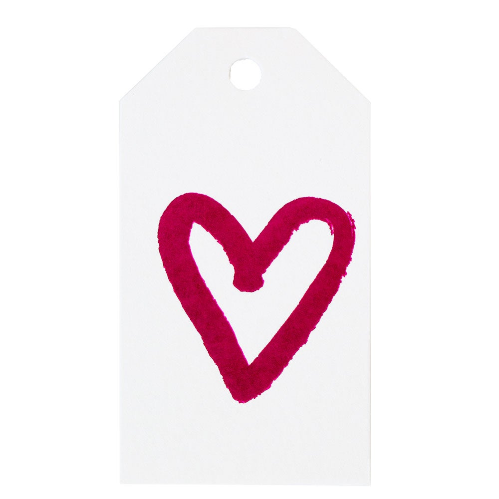 Bamboo Paper Gift Tags, Set of 6
