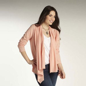 Peach Daily Cardigan - Large - Peach - Extra Large