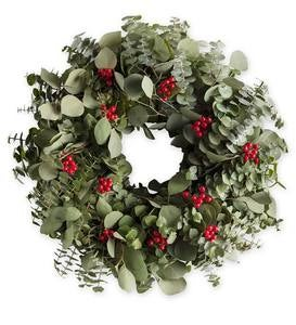 Eucalyptus Berry Wreath