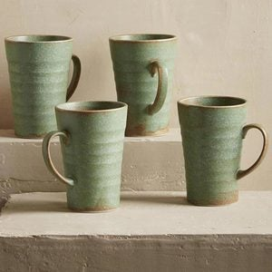 Terra Green Stone Dinnerware Collection