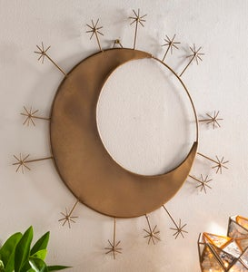 Star and Moon Wall Art Decor