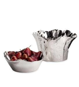 Organic Shaped Cast Aluminum Bowls