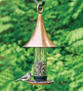 Castella Copper Bird Feeder