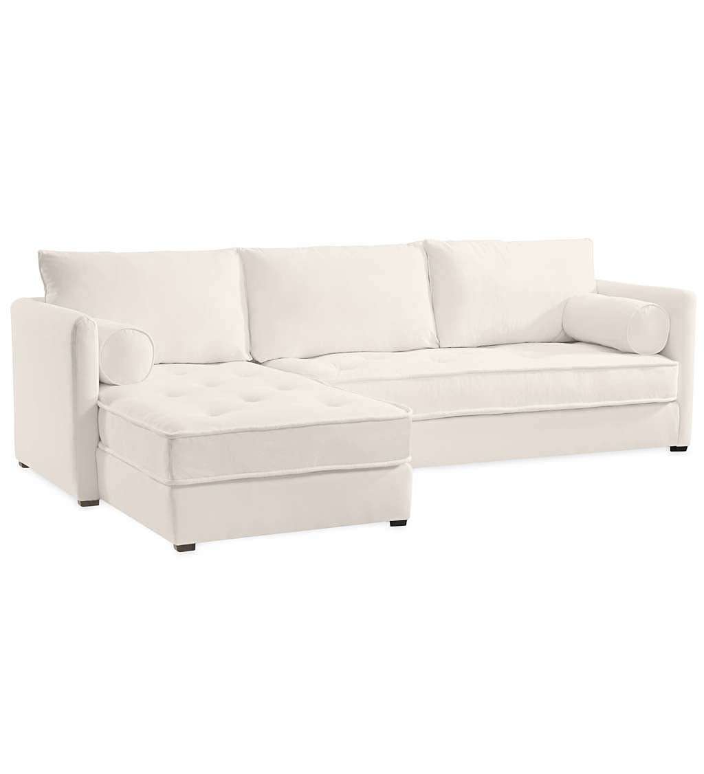 Eco Sectional Sofa Right Side Chaise