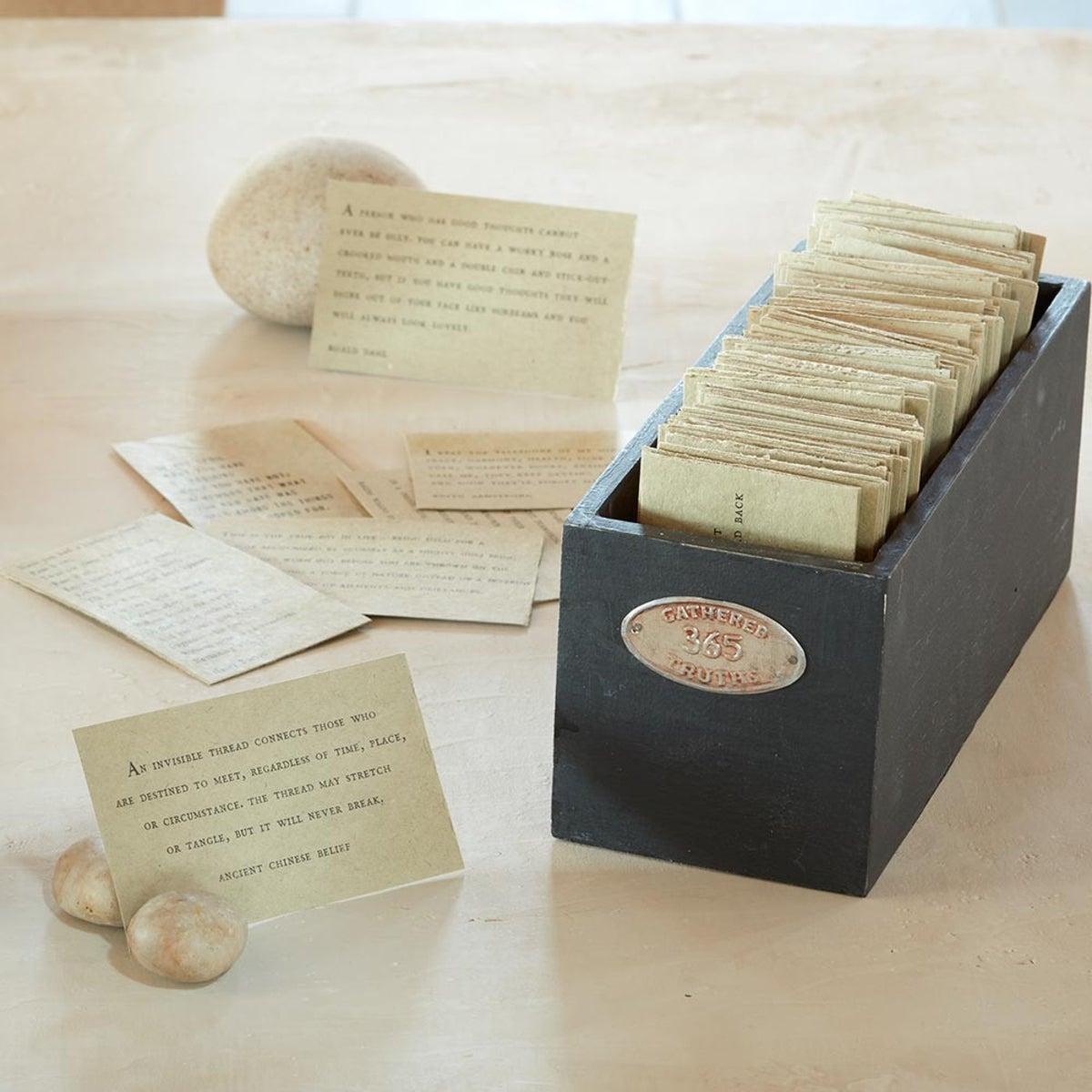 365 Handmade Gathered Truths | VivaTerra