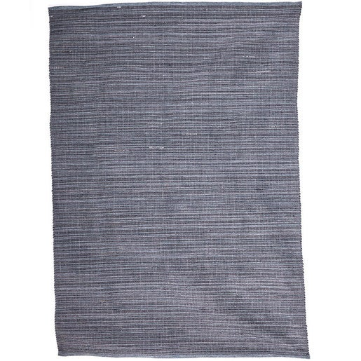 Handwoven Recycled Rubber Indoor/Outdoor Rug, 4'x6'