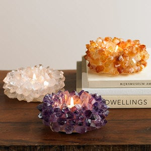 Crystal Tealight Holder - Small