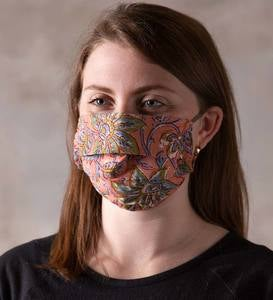 Double-Layered Cotton Face Masks, Set of 3