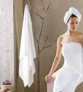 Home Spa Carded Cotton Bath Accessories