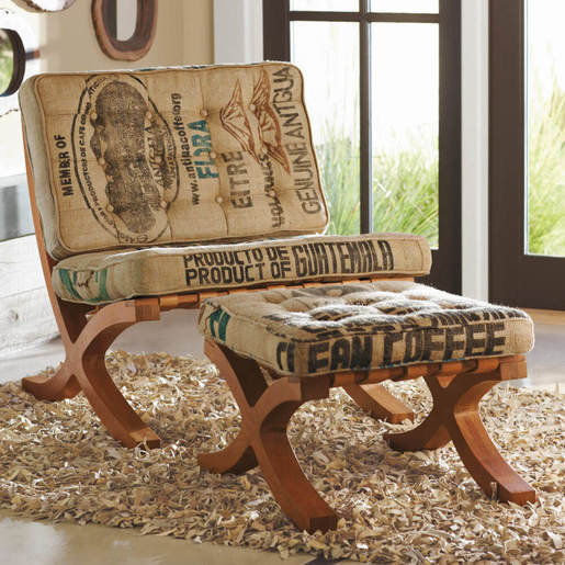 Butaca Chair & Footstool