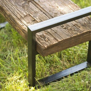 Reclaimed Outdoor Bench