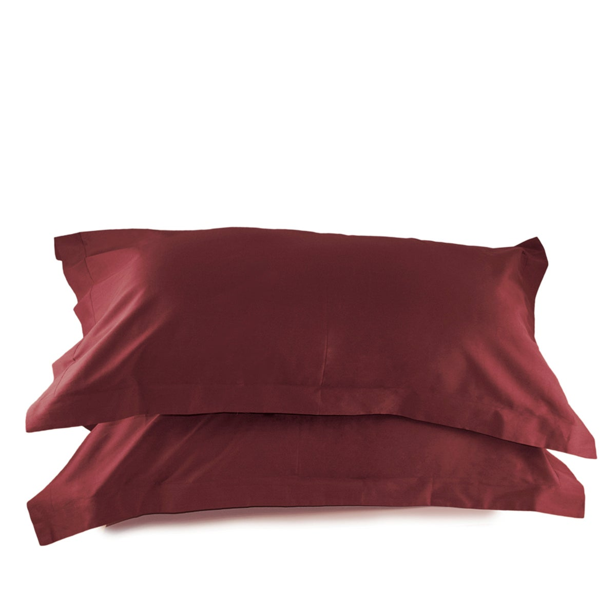 300 Thread Count Sateen Solid King Shams - Port