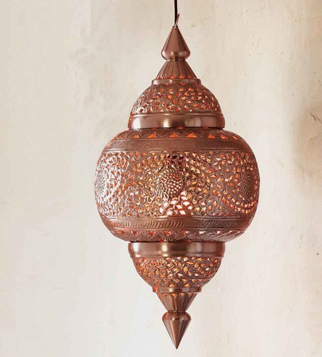 Moroccan Hanging Lamp - Medium