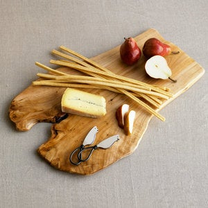 Root of the Earth Cheese Board with Cheese Knives