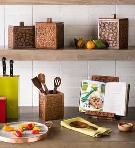 Rosewood Ginkgo Kitchen Collection