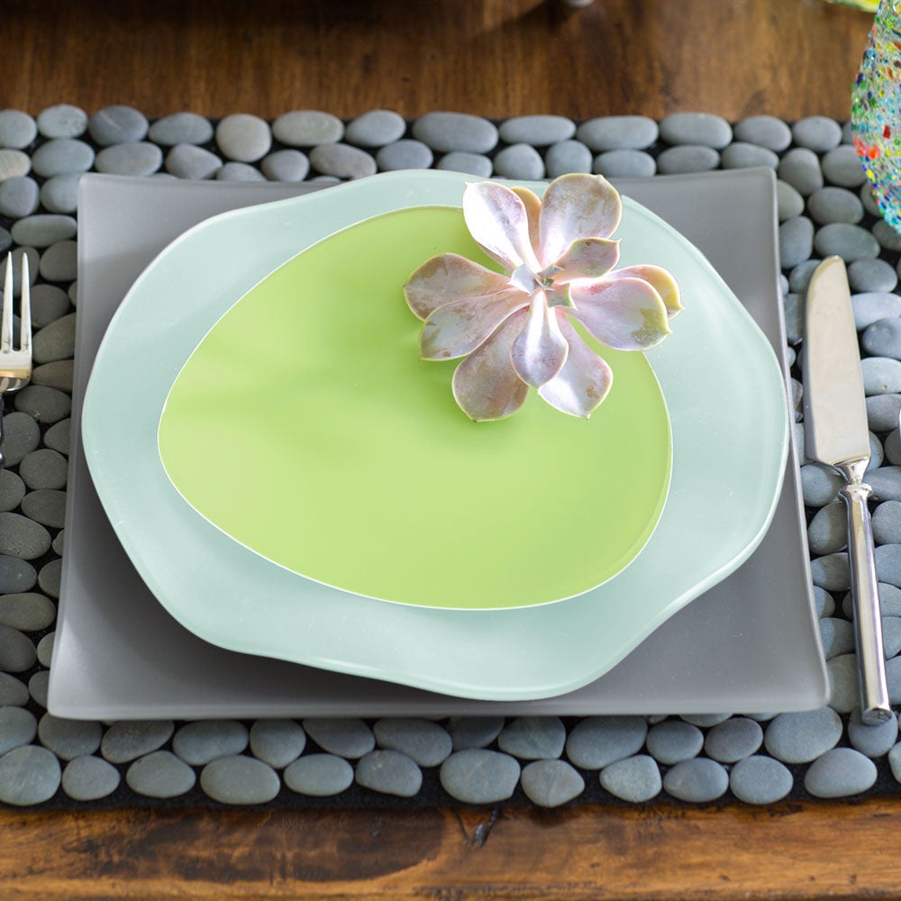 SeaGlass Recycled Glass Dinnerware - The Complete Collection