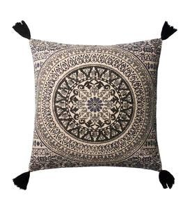"Mandala Throw Pillow 22"" Square"