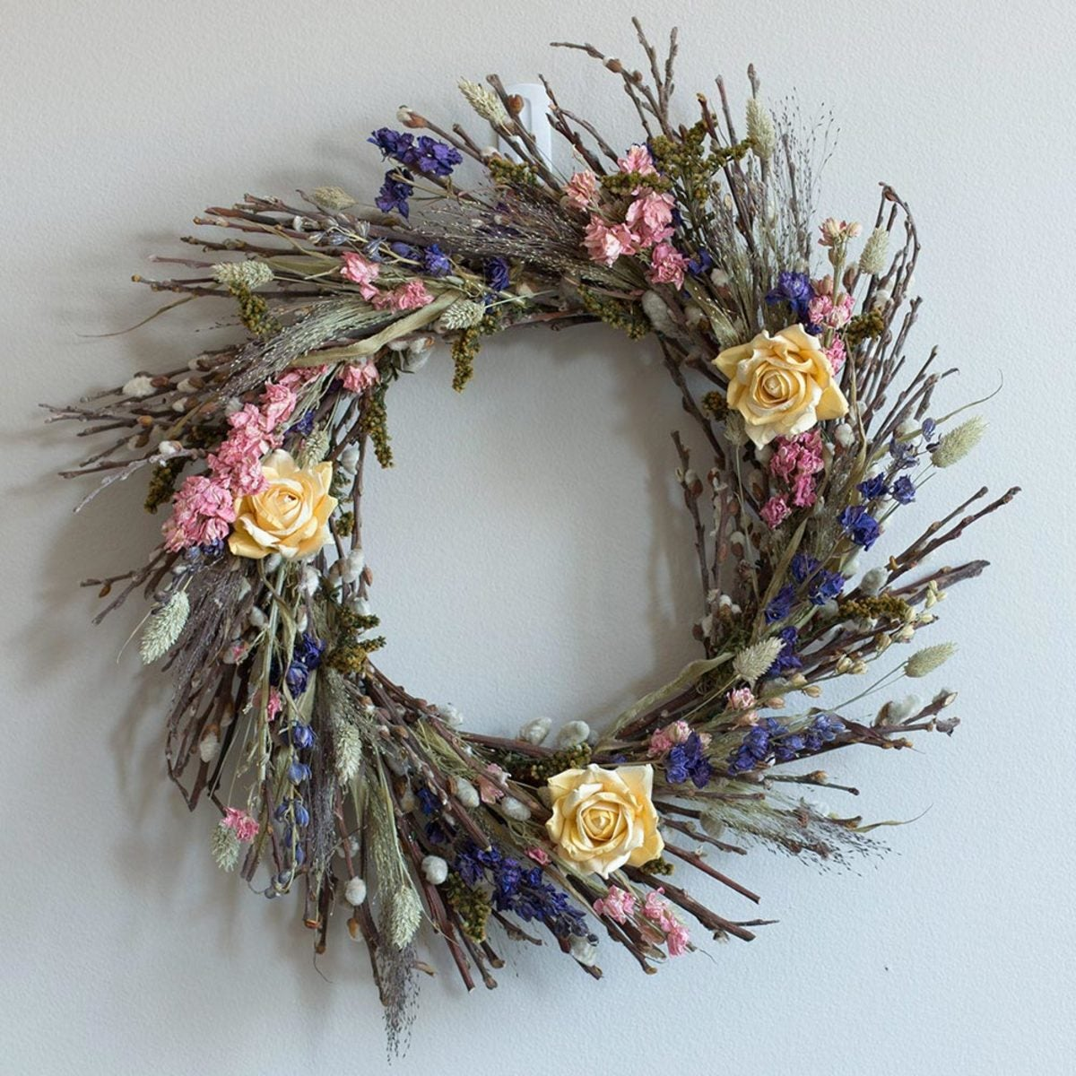 Flowering Willow Wreath