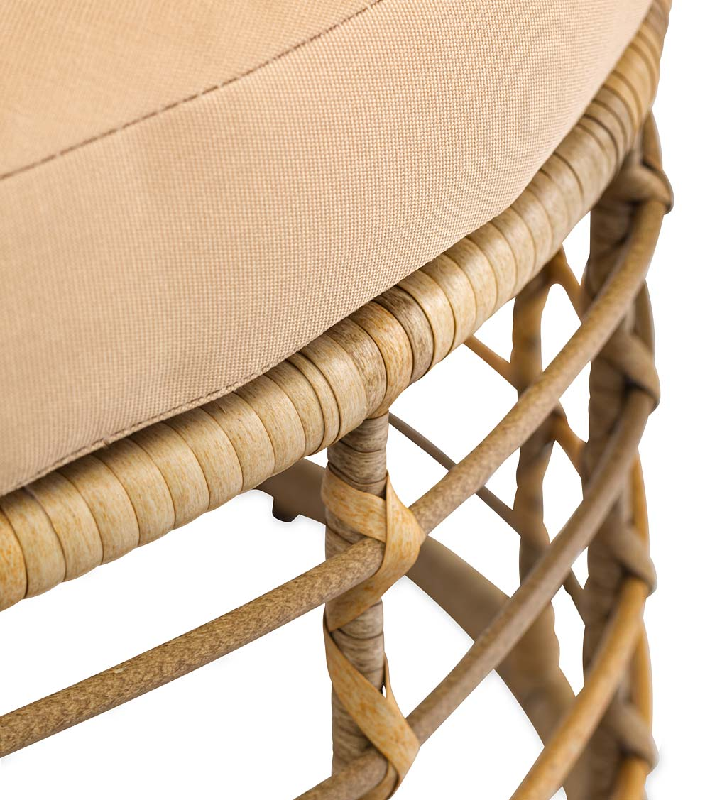 All-Weather Rattan Egg Chair