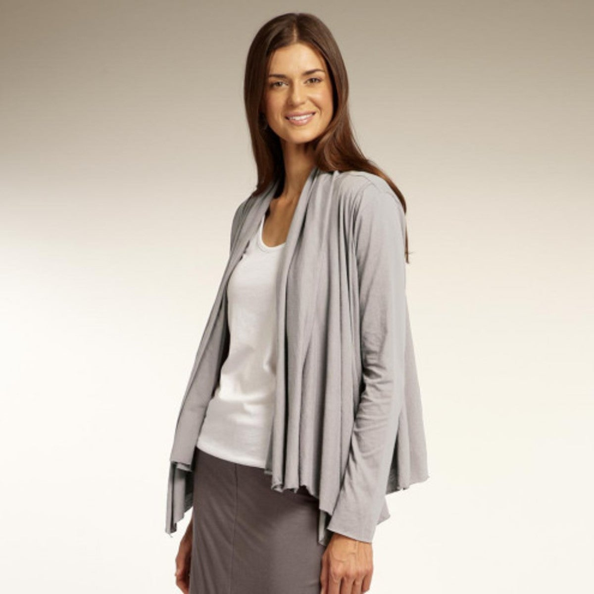 Daily Cardigan - Silver - Silver - Extra Small