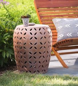 Terracotta Moroccan Side Table