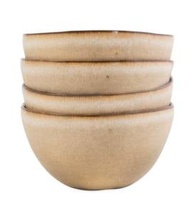 Farmstead Stoneware Cereal/Soup Bowls, Set of 4 - Midnight