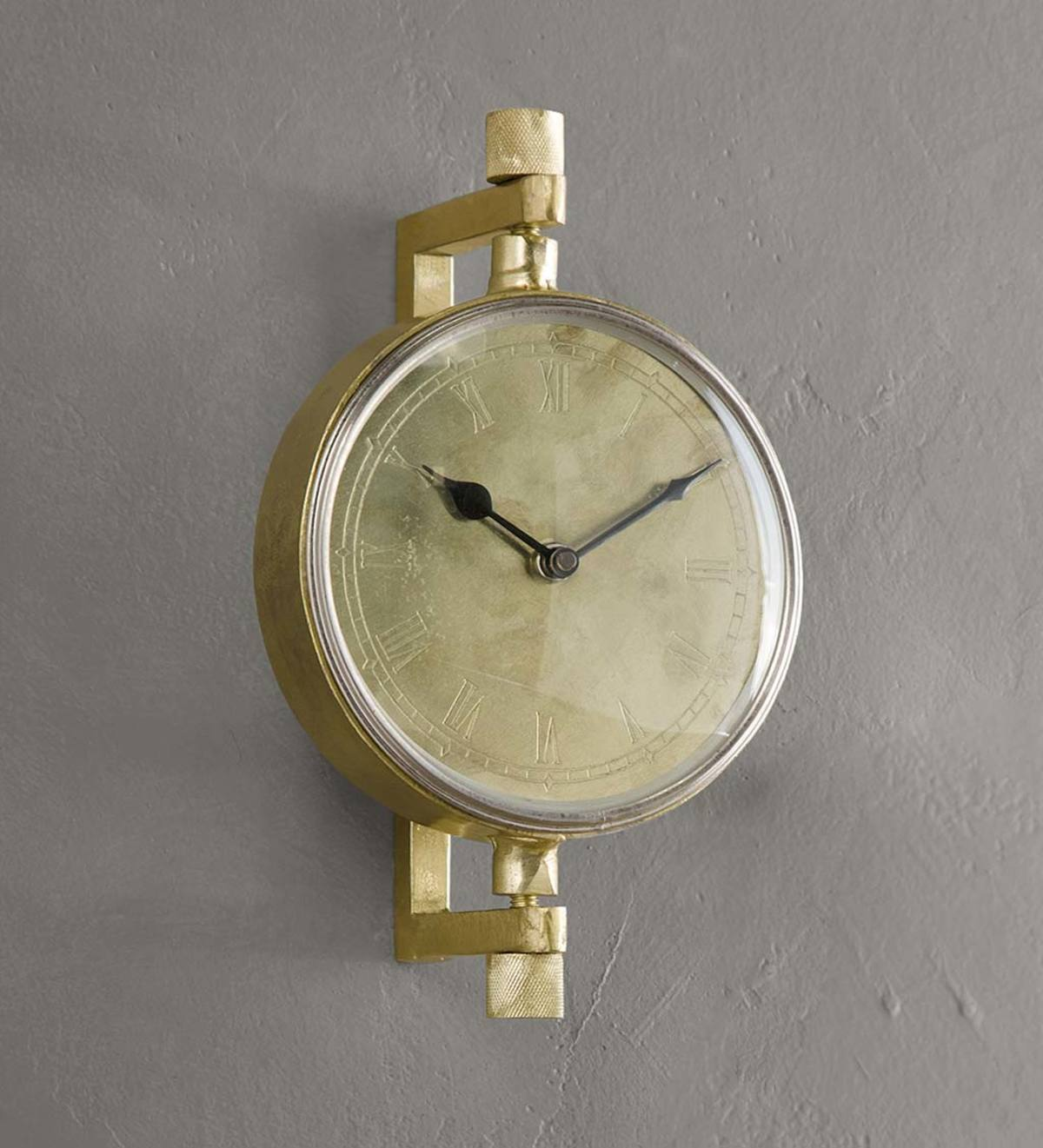 Small Swivel Arm Wall Clock