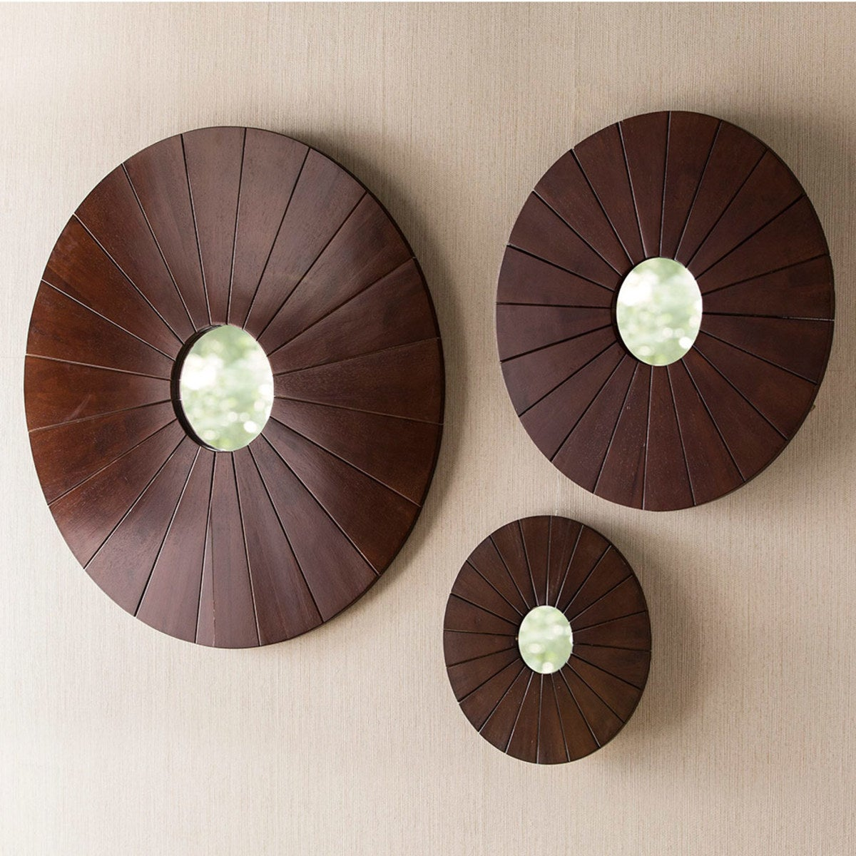 Birchwood Burst Mirrors