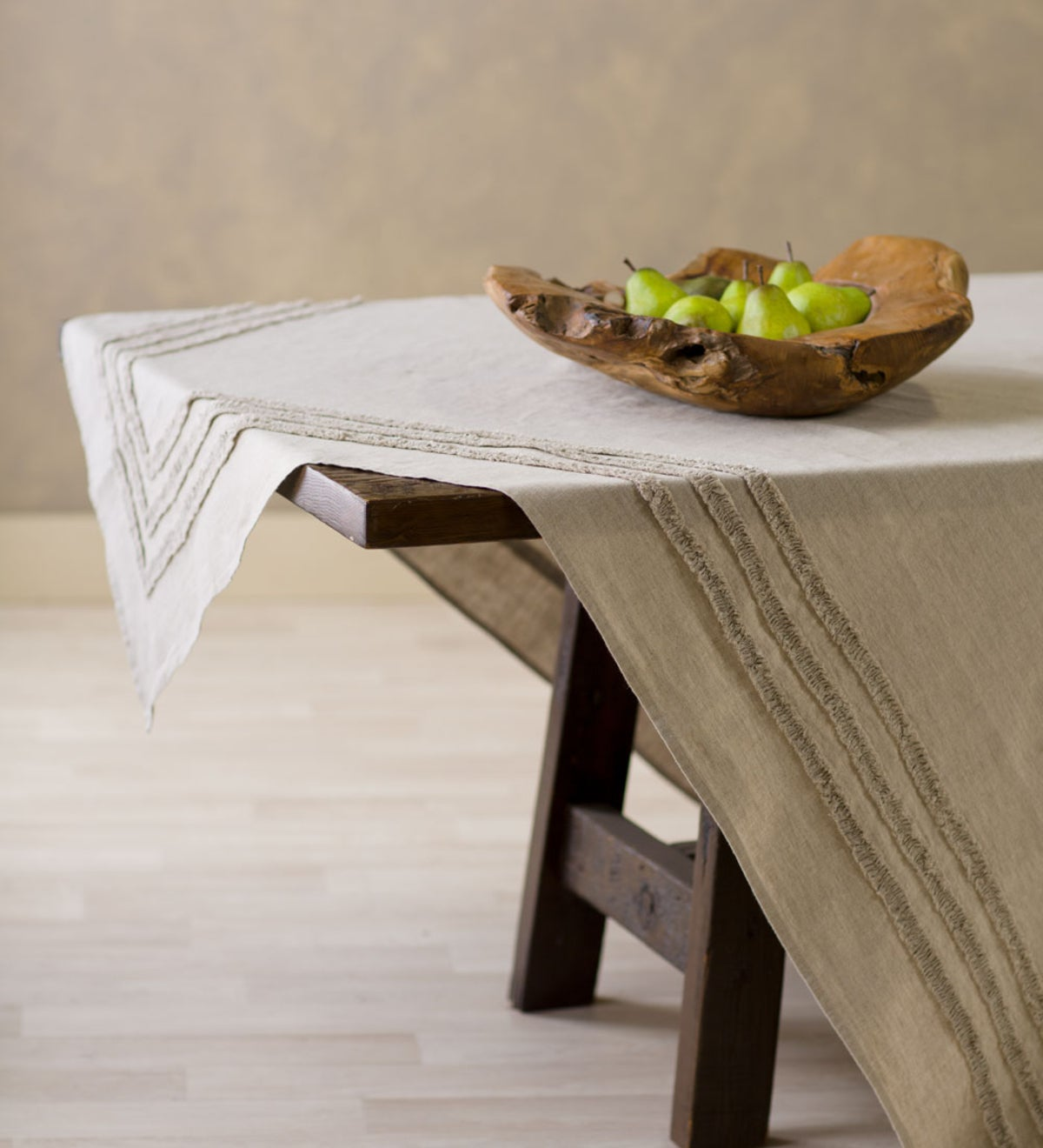 Frayed Edge All Natural Table Linens