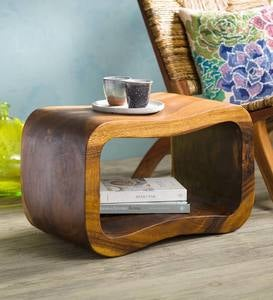 Wave Side Table/ Ottoman