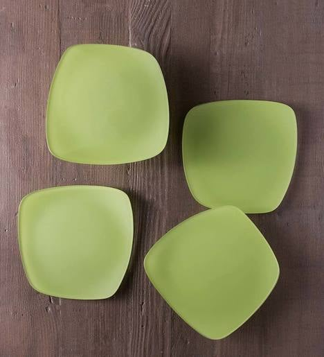 "SeaGlass Form Plates, 9"", Set of 4"