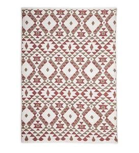 Reversible Indoor/Outdoor Diamond Placemats, Set of 4