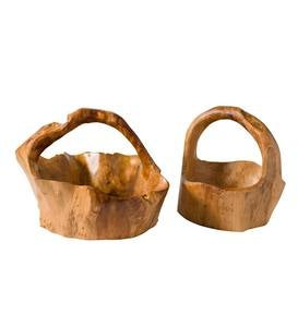 Root of the Earth Basket, Set of 2
