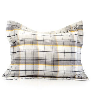 Brigham Plaid Flannel Bedding Collection