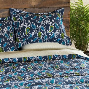 Britton Bold Paisley Bedding Collection