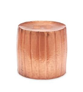 Hammered Drum Tables Collection