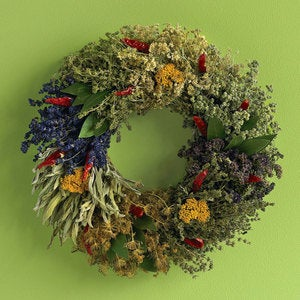 Organic Culinary Herb Wreath