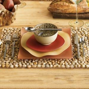 River Stone Placemats, Set of 4