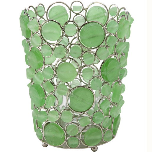 Batasha Recycled Glass Tealight Holder - Large