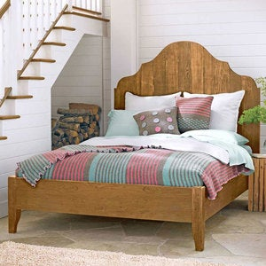 Gustavian Vintage Fir Bed Collection