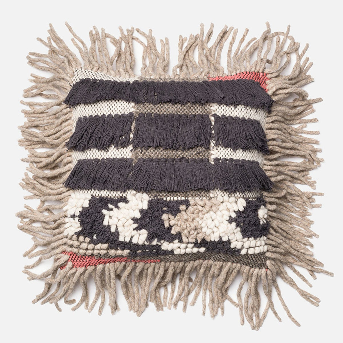 Loloi Handwoven Wild Things Throw Pillow