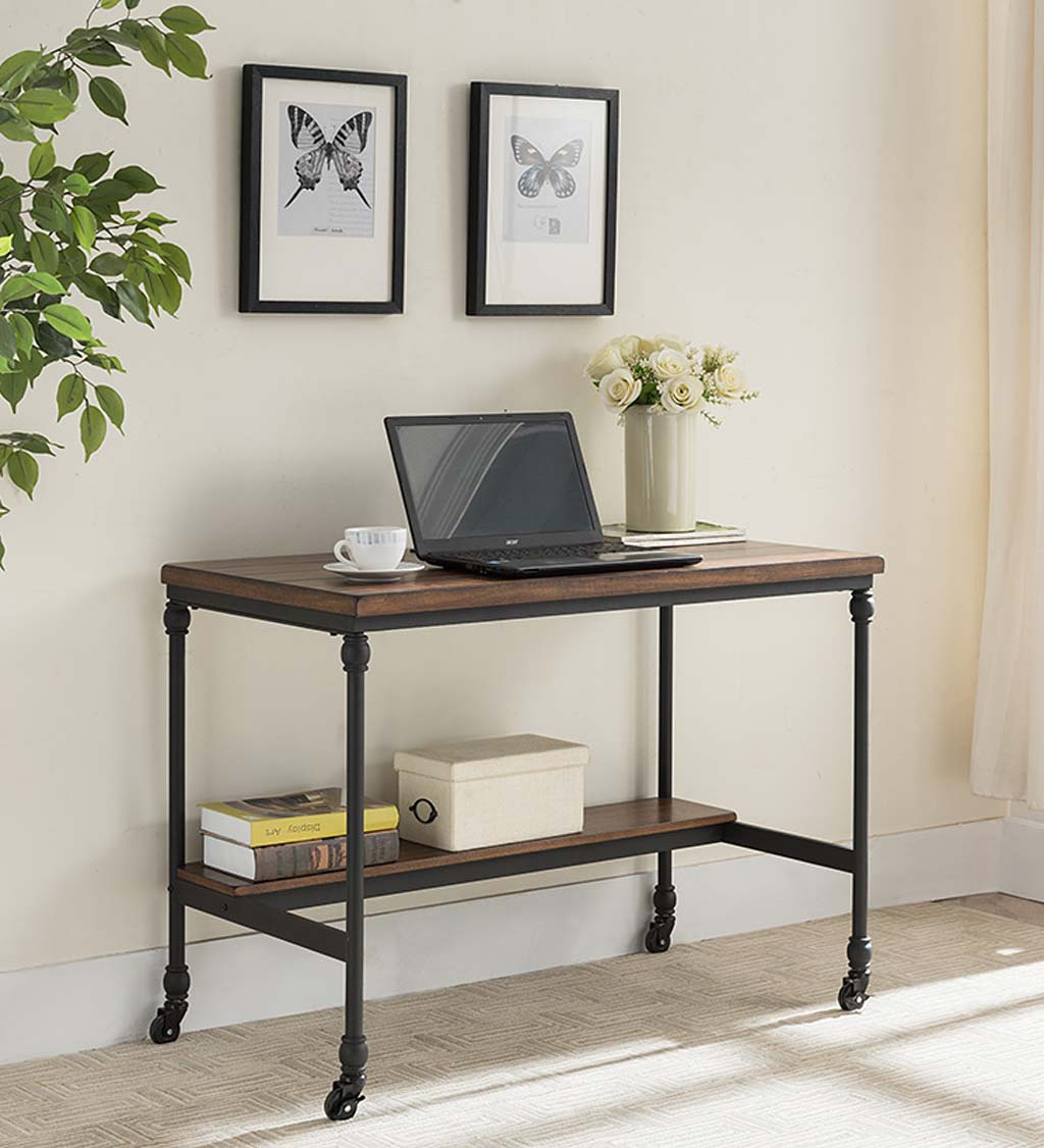 Weston Writing Desk With Built-In Charging Station