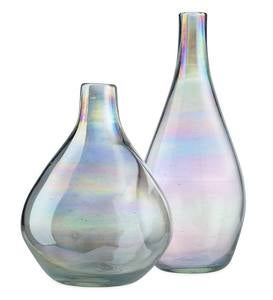 Iridescent Balloon Vases, Set of 2