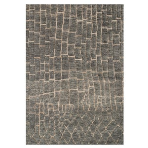 Loloi Tanzania Just Zig Rug in Ivory - 4' x 6' - Sand
