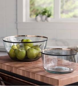 Demijohn or Balon Reclaimed Glass Bowls