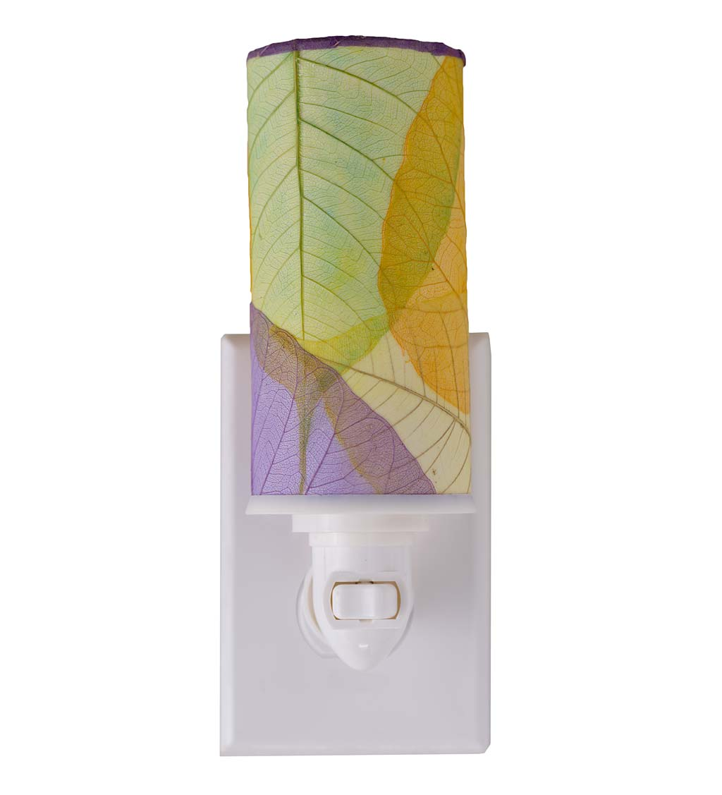Pressed Leaf Nightlights
