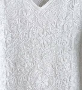 Handmade Embroidered Tunic - L (12-14)