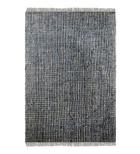 Braymer Recycled Leather and Natural Hemp Rug