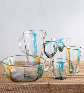Satori Stripe Recycled Glassware Collection