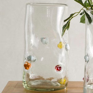 Bright Spot Recycled Glass Vases